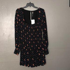 NWT Free people beautiful shift dress size M